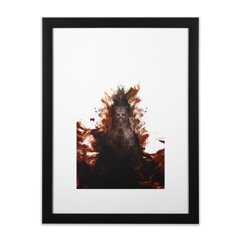 Cokegoat Home Framed Fine Art Print by Scott Shellhamer's Artist Shop