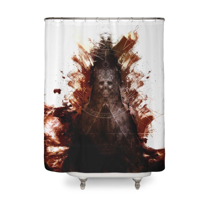 Cokegoat Home Shower Curtain by Scott Shellhamer's Artist Shop