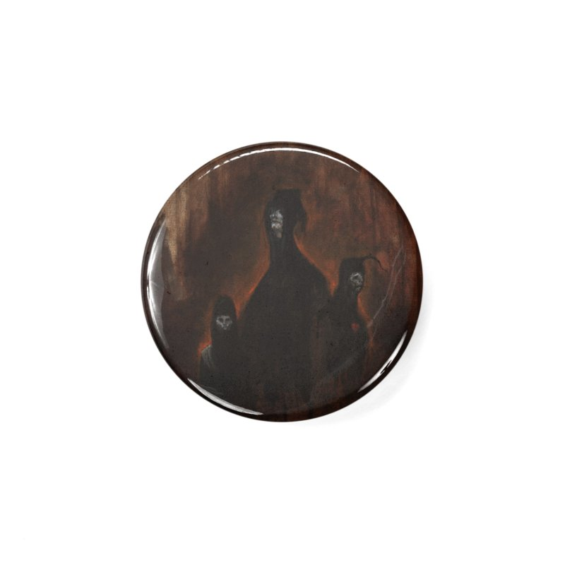 Death Runs in the Family Accessories Button by Scott Shellhamer's Artist Shop