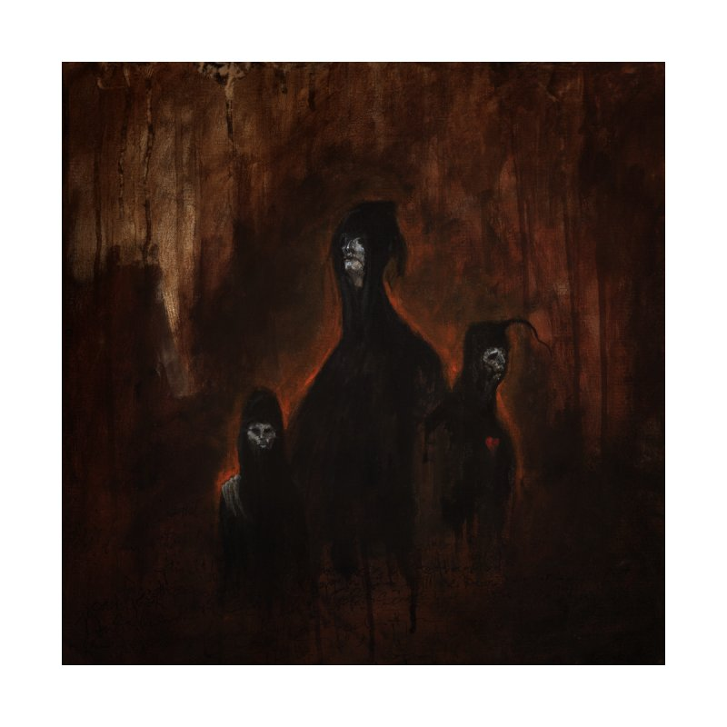 Death Runs in the Family Home Duvet by Scott Shellhamer's Artist Shop
