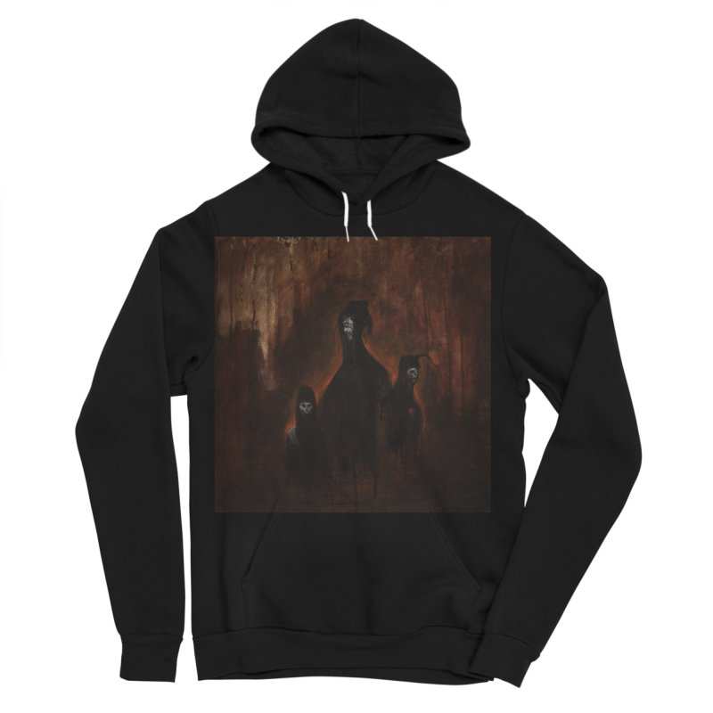 Death Runs in the Family Women's Sponge Fleece Pullover Hoody by Scott Shellhamer's Artist Shop