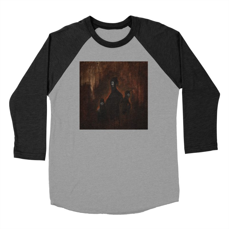 Death Runs in the Family Men's Baseball Triblend Longsleeve T-Shirt by Scott Shellhamer's Artist Shop