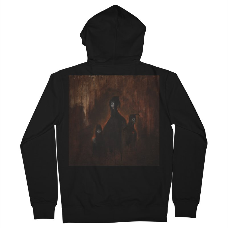 Death Runs in the Family Men's French Terry Zip-Up Hoody by Scott Shellhamer's Artist Shop