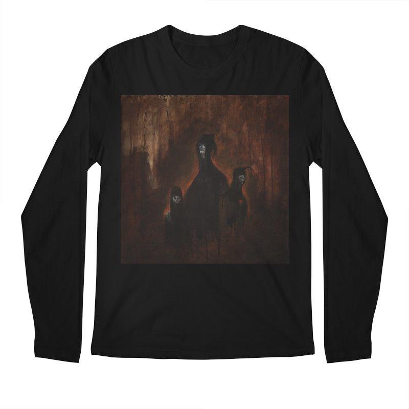 Death Runs in the Family Men's Regular Longsleeve T-Shirt by Scott Shellhamer's Artist Shop