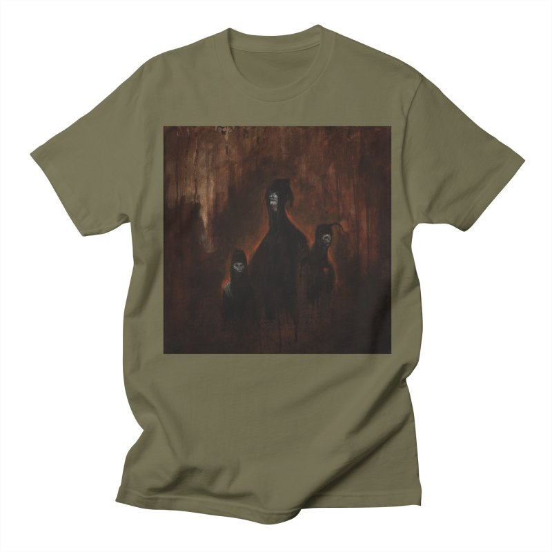 Death Runs in the Family Men's Regular T-Shirt by Scott Shellhamer's Artist Shop