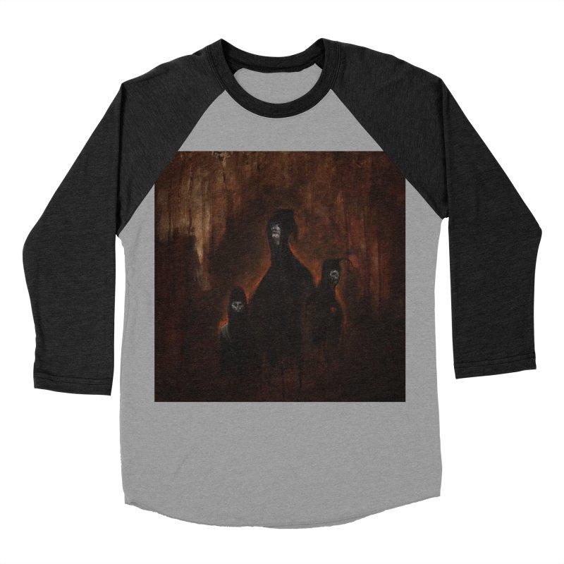 Death Runs in the Family Women's Baseball Triblend Longsleeve T-Shirt by Scott Shellhamer's Artist Shop