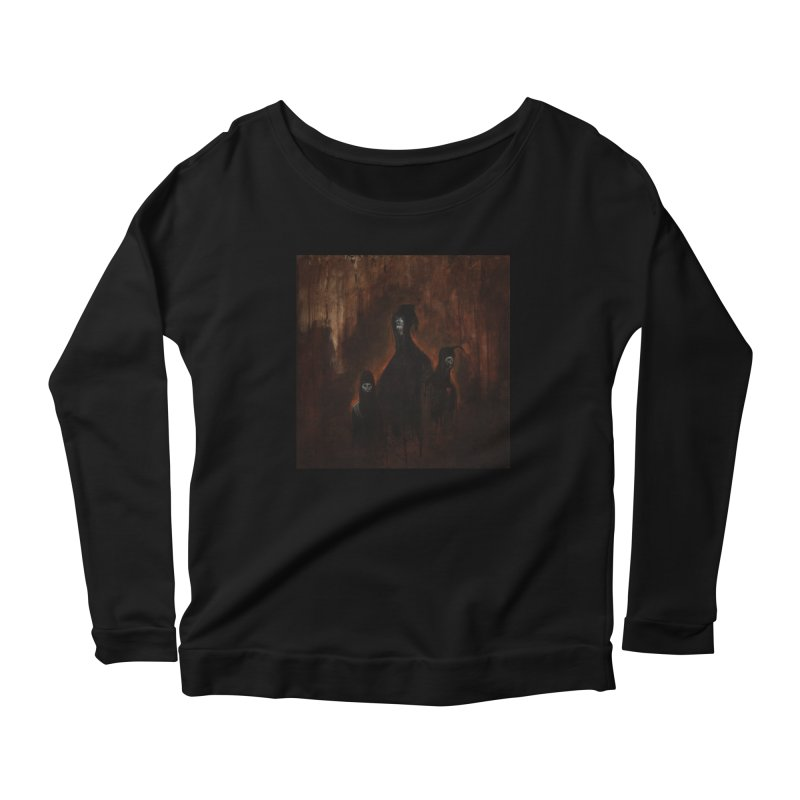Death Runs in the Family Women's Longsleeve T-Shirt by Scott Shellhamer's Artist Shop