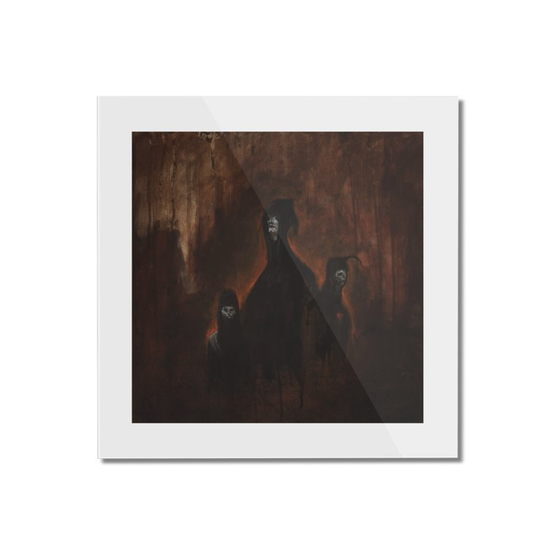 Death Runs in the Family Home Mounted Acrylic Print by Scott Shellhamer's Artist Shop