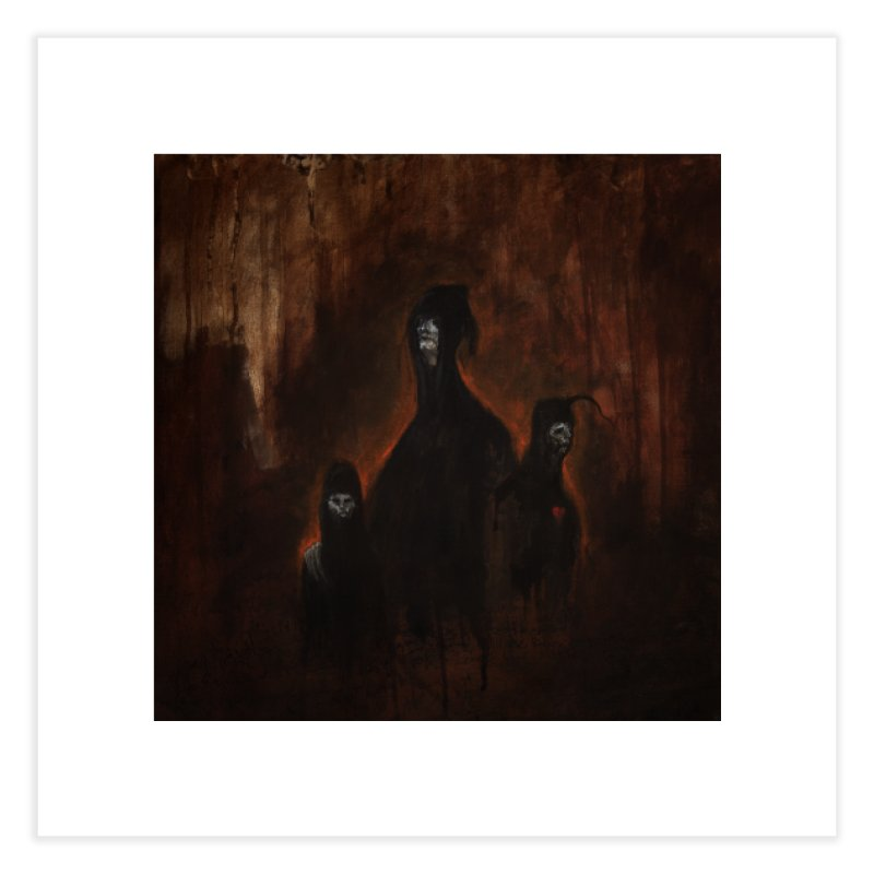 Death Runs in the Family Home Fine Art Print by Scott Shellhamer's Artist Shop