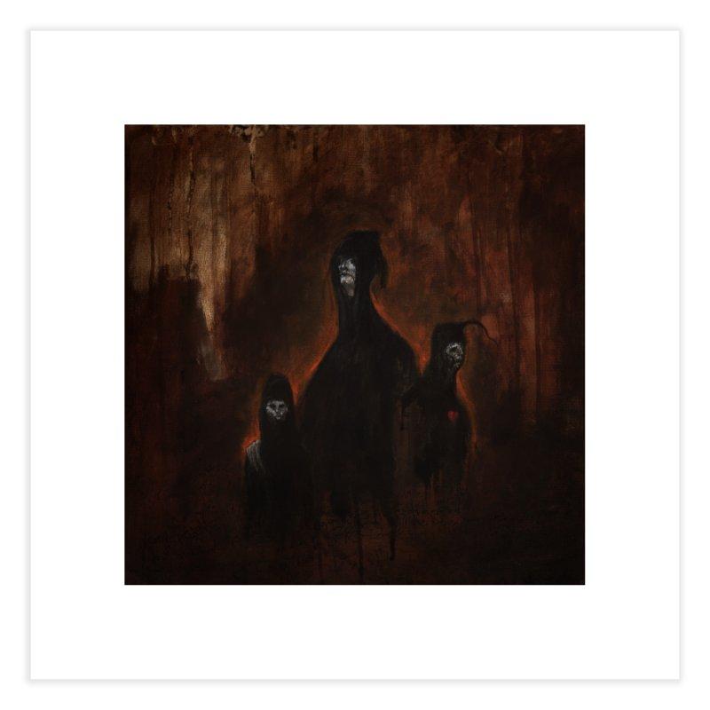 Death Runs in the Family Home Fine Art Print by Scott Shellhamer's Artist Shop