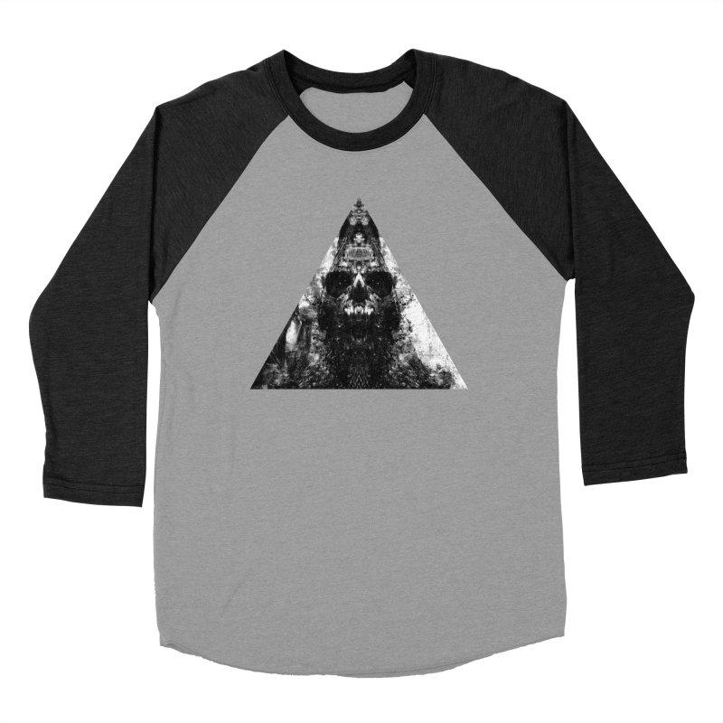Dissident Regressor Women's Baseball Triblend Longsleeve T-Shirt by Scott Shellhamer's Artist Shop