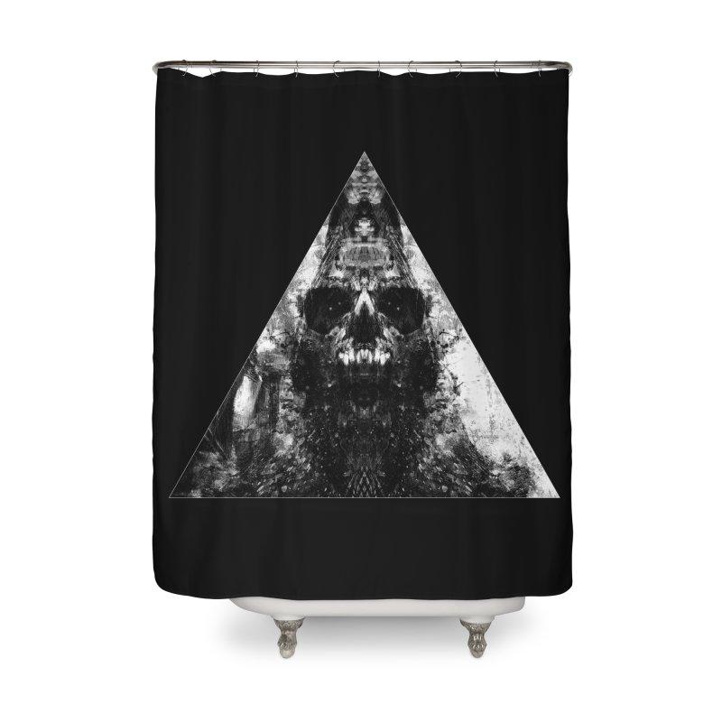 Dissident Regressor Home Shower Curtain by Scott Shellhamer's Artist Shop