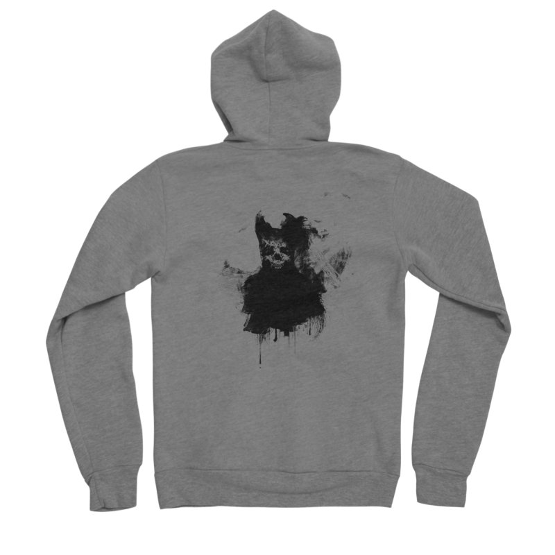 Lunglust Men's Zip-Up Hoody by Scott Shellhamer's Artist Shop