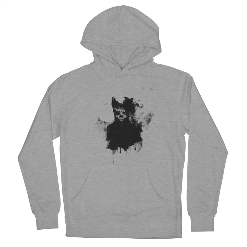 Lunglust Women's French Terry Pullover Hoody by Scott Shellhamer's Artist Shop