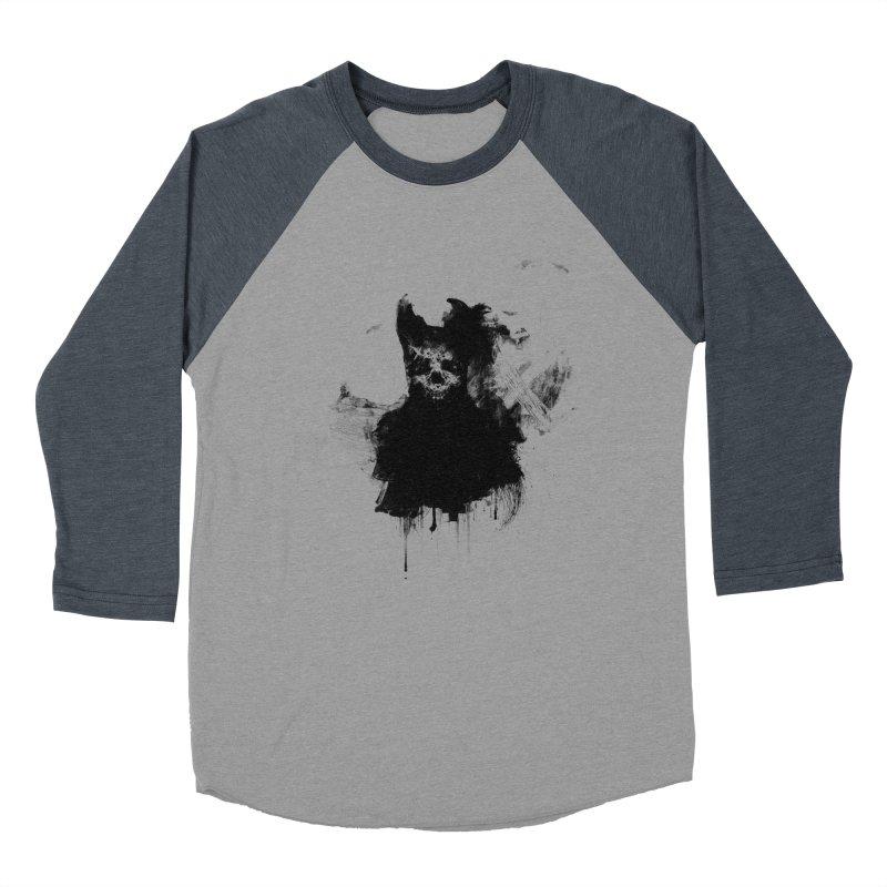 Lunglust Women's Baseball Triblend Longsleeve T-Shirt by Scott Shellhamer's Artist Shop