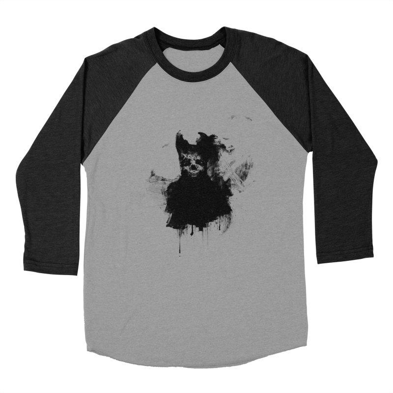 Lunglust Men's Baseball Triblend Longsleeve T-Shirt by Scott Shellhamer's Artist Shop