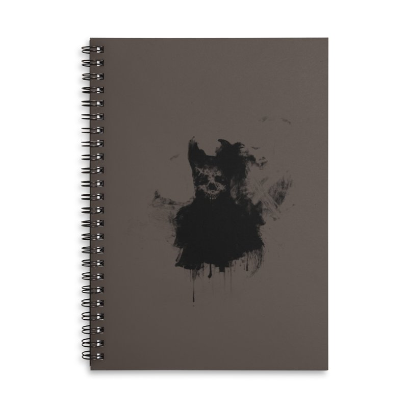 Lunglust Accessories Notebook by Scott Shellhamer's Artist Shop