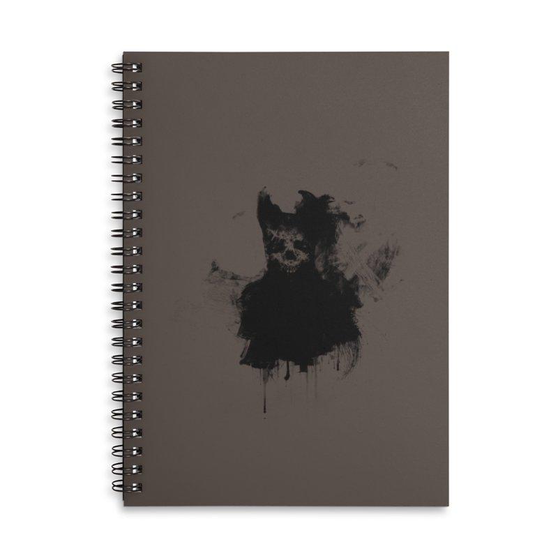 Lunglust Accessories Lined Spiral Notebook by Scott Shellhamer's Artist Shop
