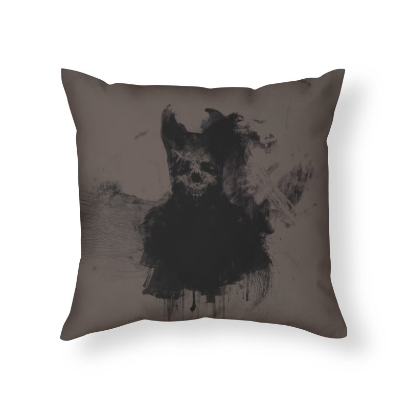 Lunglust Home Throw Pillow by Scott Shellhamer's Artist Shop