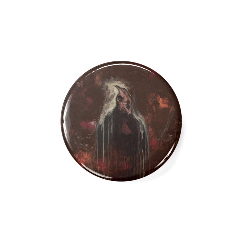 The Goat Thief Accessories Button by Scott Shellhamer's Artist Shop