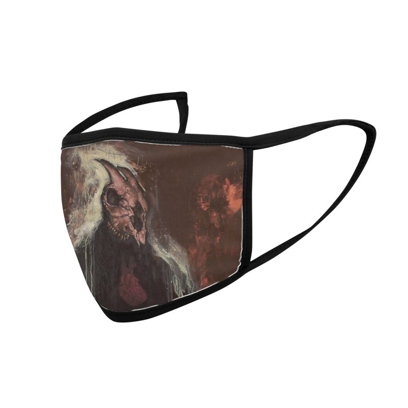 The Goat Thief Accessories Face Mask by Scott Shellhamer's Artist Shop