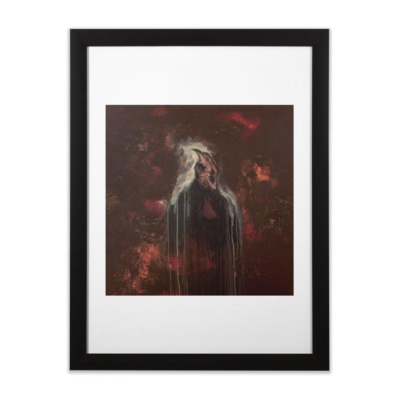 The Goat Thief Home Framed Fine Art Print by Scott Shellhamer's Artist Shop