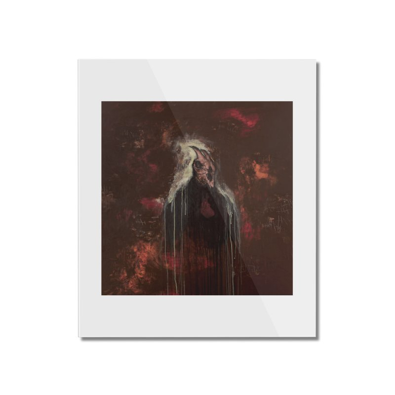 The Goat Thief Home Mounted Acrylic Print by Scott Shellhamer's Artist Shop