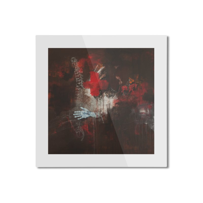 The Surgeon Home Mounted Aluminum Print by Scott Shellhamer's Artist Shop