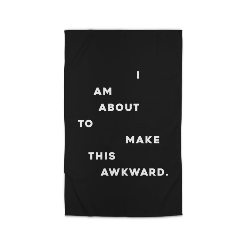 I am about to make this awkward. Home Rug by Scott Shellhamer's Artist Shop