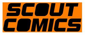 Scout Comic Merchandise Logo