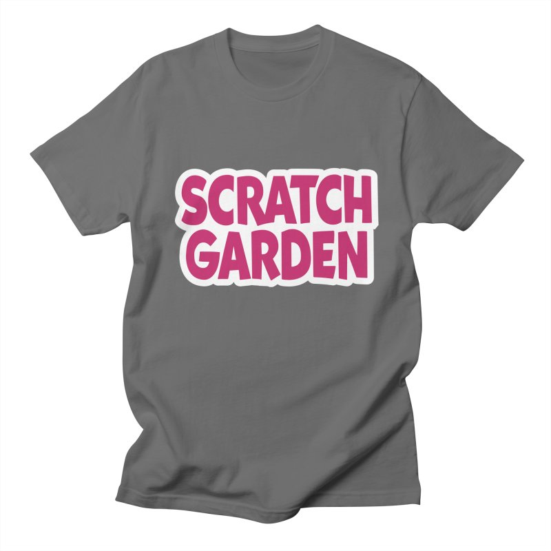 Scratch Garden Logo Men's T-Shirt by Scratch Garden!