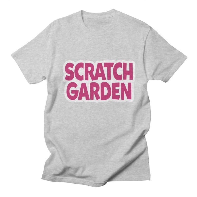 Scratch Garden Logo Men's T-Shirt by Scratch Garden!