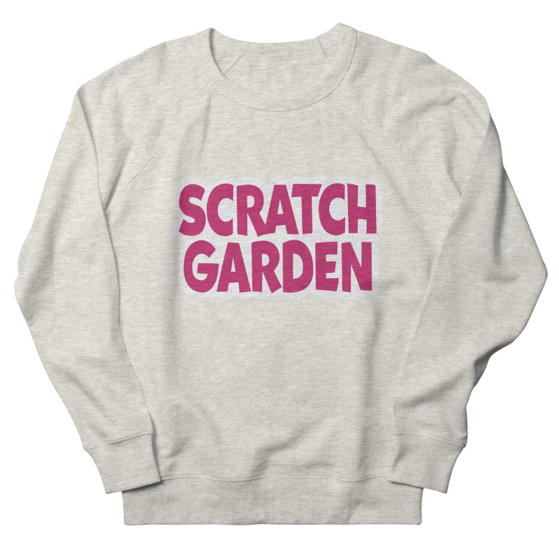 Scratch Garden Logo Men's French Terry Sweatshirt by Scratch Garden!