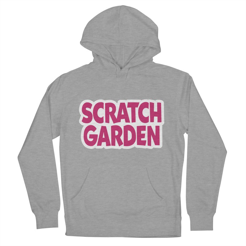 Scratch Garden Logo Men's French Terry Pullover Hoody by Scratch Garden!