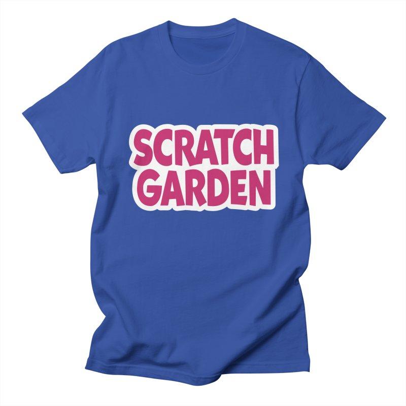 Scratch Garden Logo Men's Regular T-Shirt by Scratch Garden!