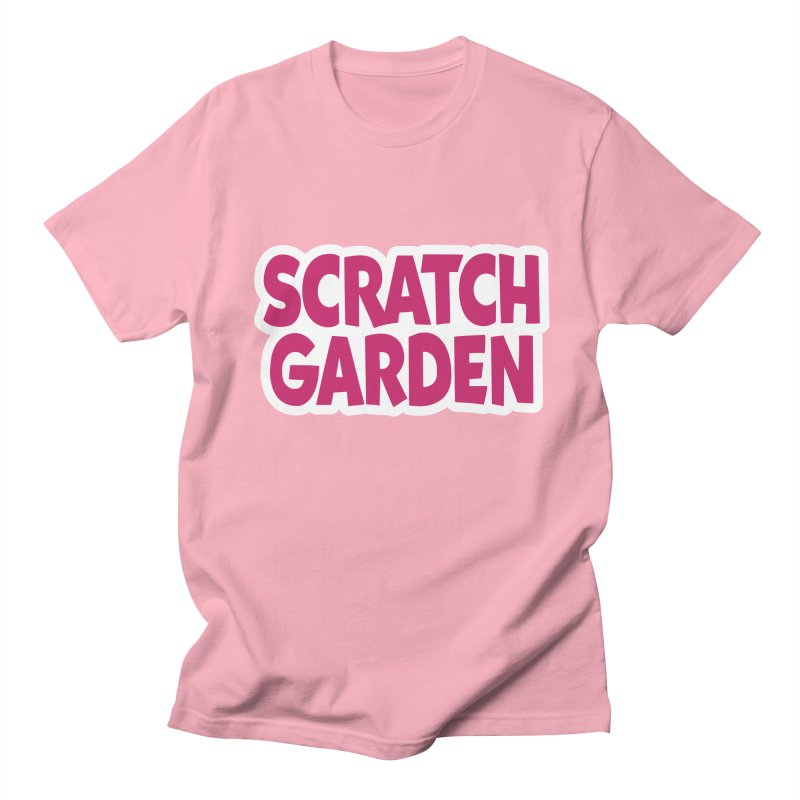 Scratch Garden Logo Men's Regular T-Shirt by Scratch Garden!