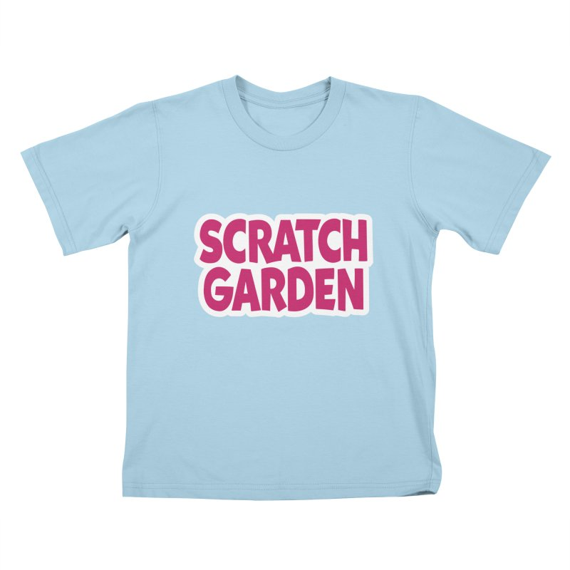 Scratch Garden Logo Kids T-Shirt by Scratch Garden!