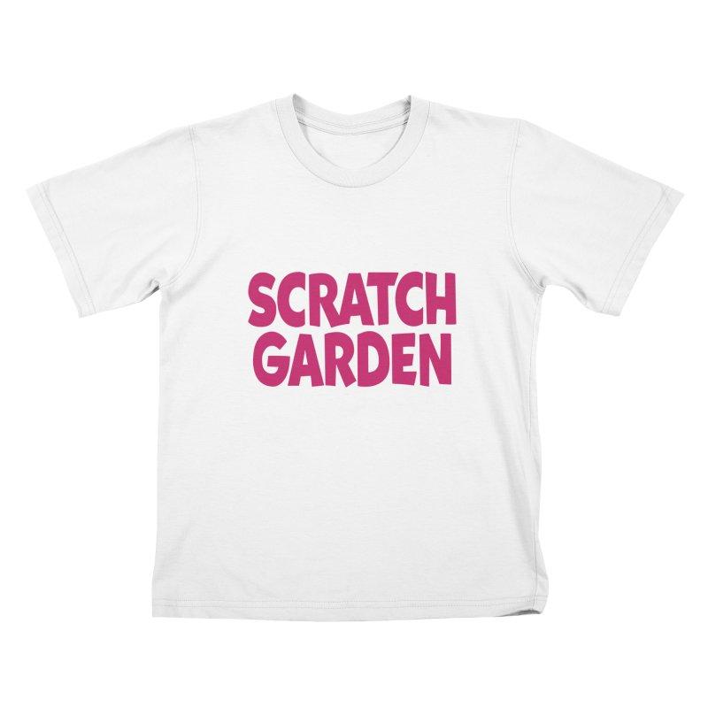 Scratch Garden Logo Kids T-Shirt by Scratch Garden!