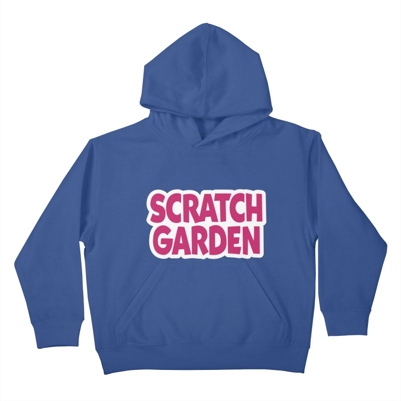 Scratch Garden Logo Kids Pullover Hoody by Scratch Garden!