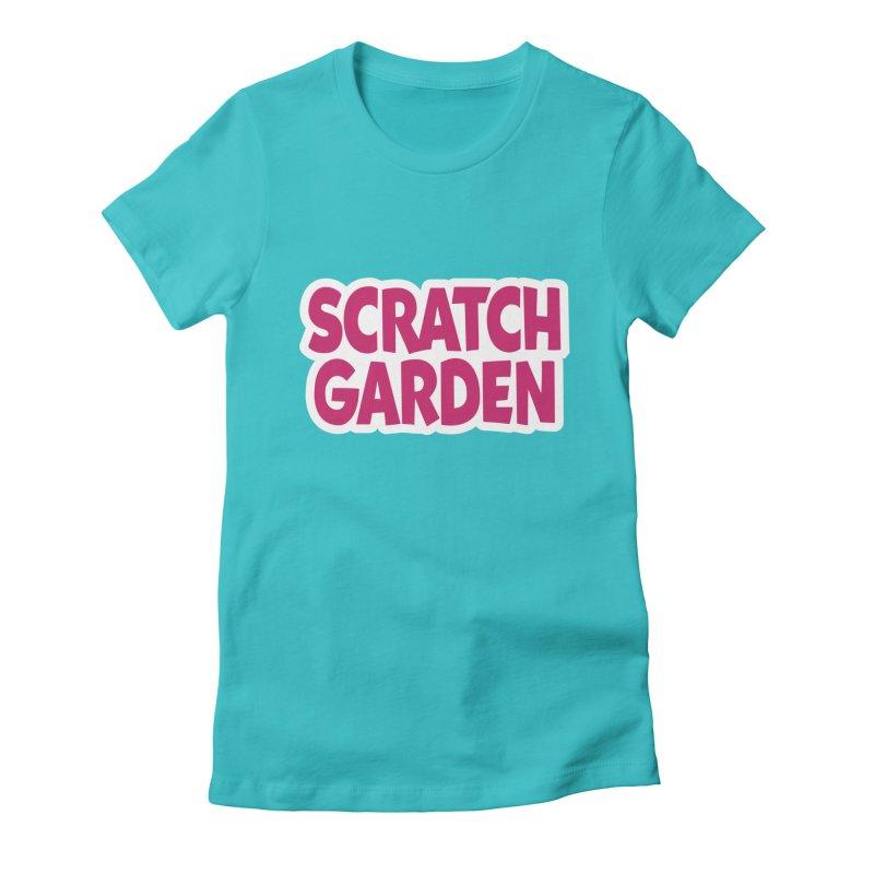 Scratch Garden Logo Women's Fitted T-Shirt by Scratch Garden!