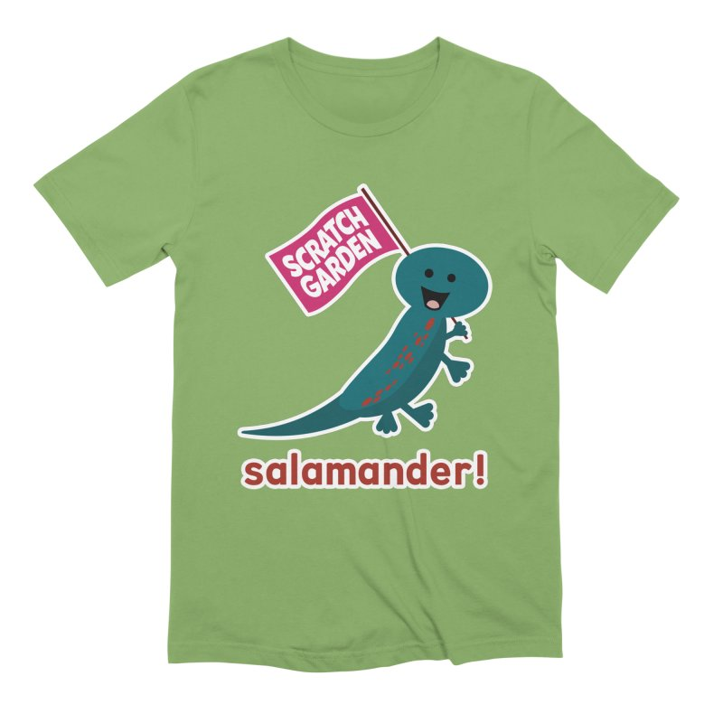 Salamander! Men's T-Shirt by Scratch Garden!