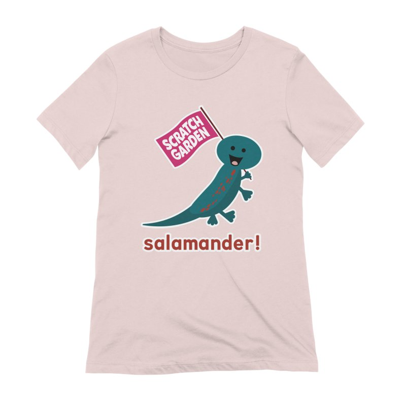 Salamander! Women's Extra Soft T-Shirt by Scratch Garden!