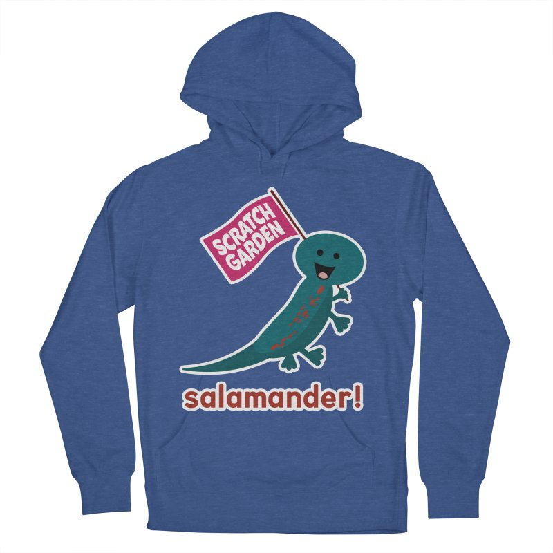 Salamander! Men's French Terry Pullover Hoody by Scratch Garden!