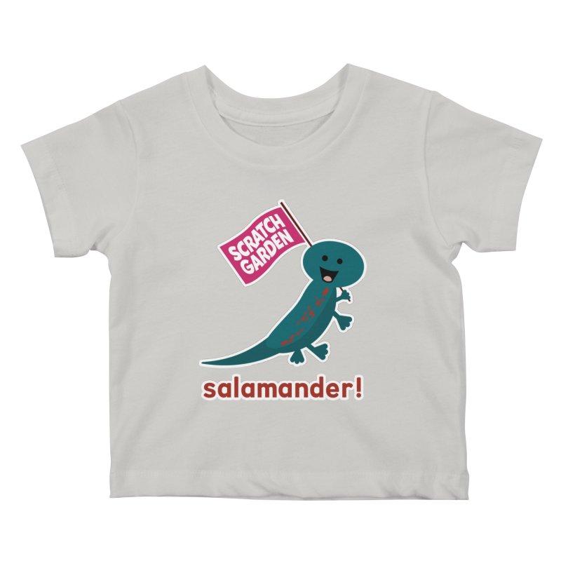 Salamander! Kids Baby T-Shirt by Scratch Garden!