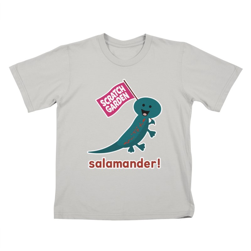 Salamander! Kids T-Shirt by Scratch Garden!