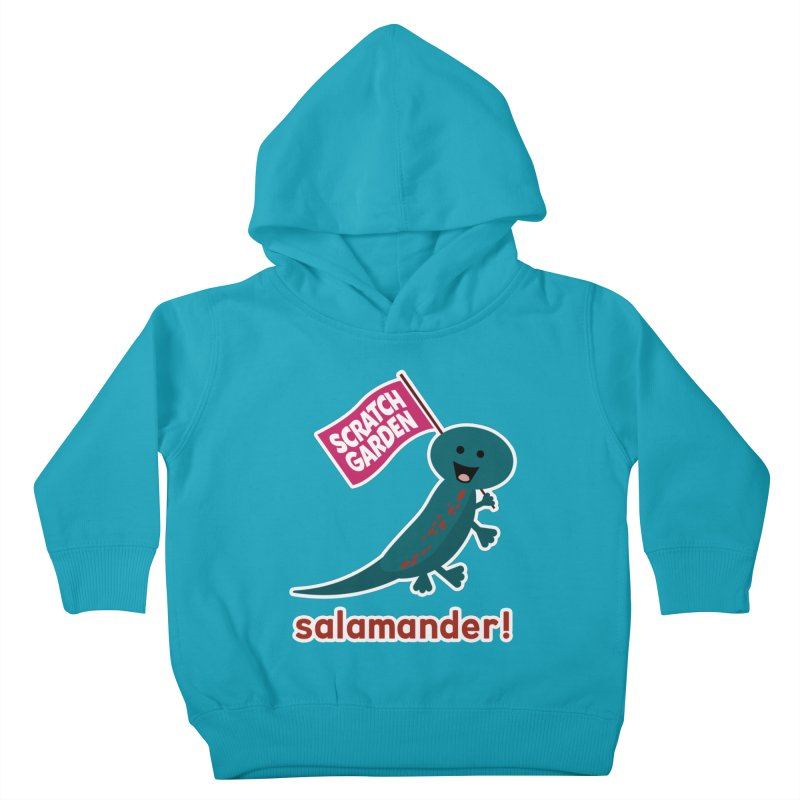 Salamander! Kids Toddler Pullover Hoody by Scratch Garden!