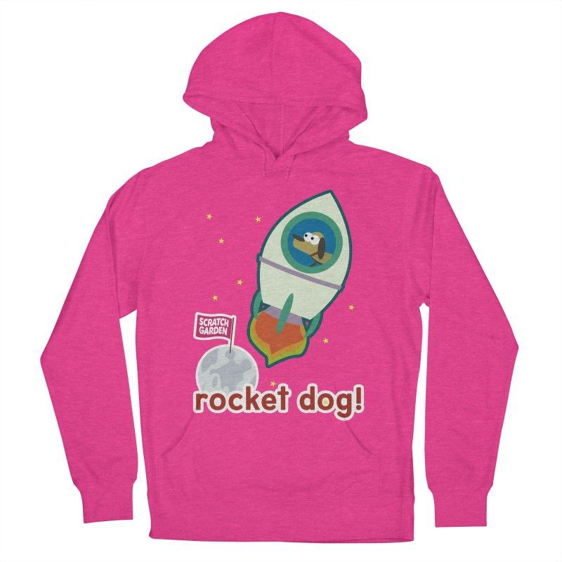 Rocket Dog! Men's Pullover Hoody by Scratch Garden!