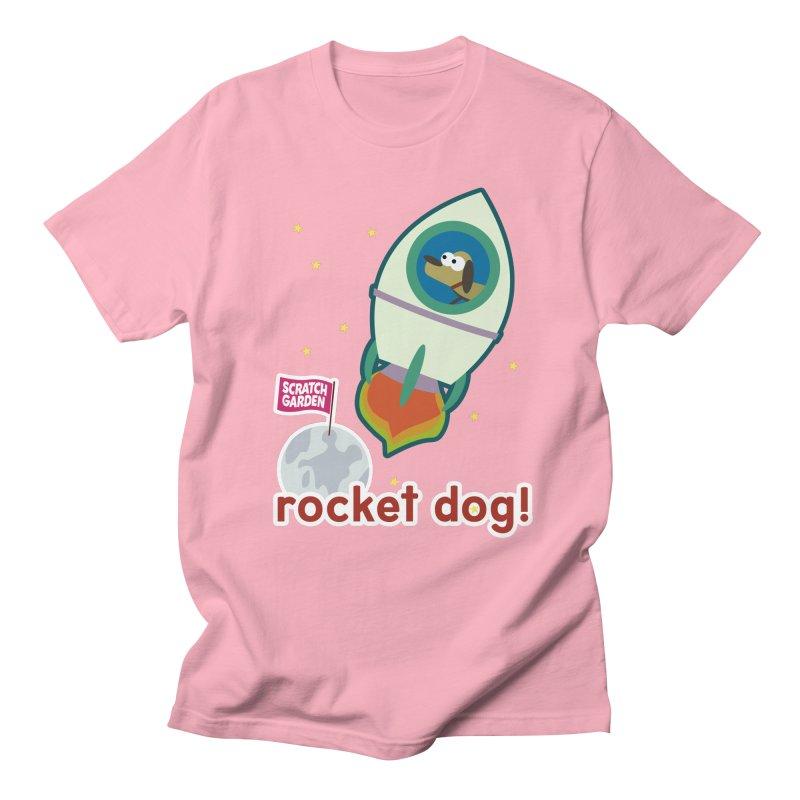 Rocket Dog! Women's Regular Unisex T-Shirt by Scratch Garden!