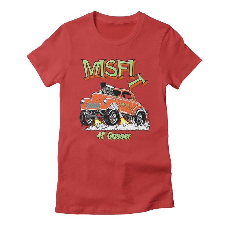 41 Gasser for Hal Women's T-Shirt by screamnjimmy's Artist Shop