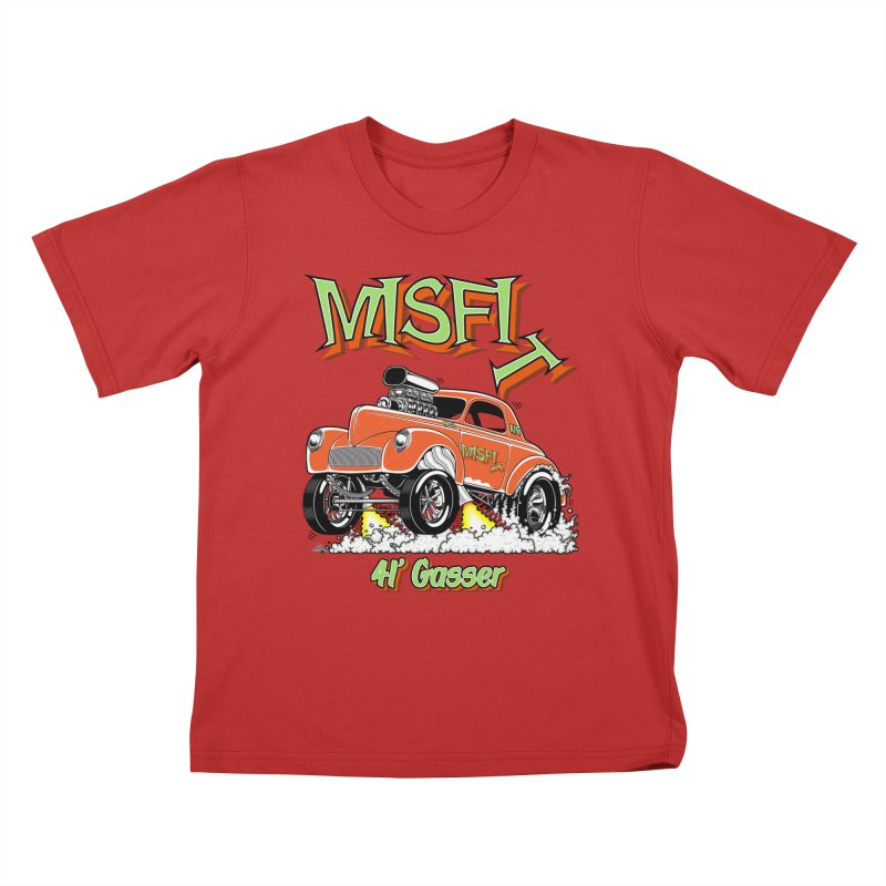 41 Gasser for Hal Kids T-Shirt by screamnjimmy's Artist Shop